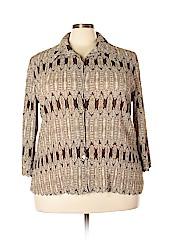 Cato Women Long Sleeve Blouse Size 22 - 24 (Plus)