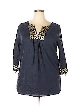 PREMISE 3/4 Sleeve Blouse Size 1X (Plus)