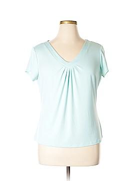 Briggs New York Short Sleeve Top Size XL