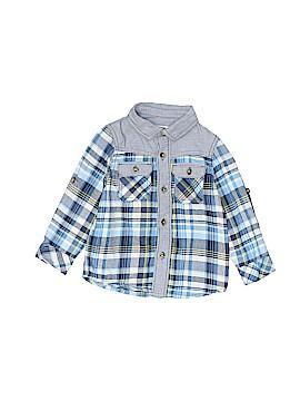 Genuine Kids from Oshkosh Long Sleeve Button-Down Shirt Size 18 mo