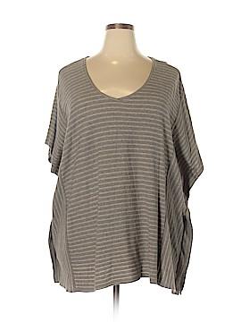 Purejill Short Sleeve Top Size 3X (Plus)