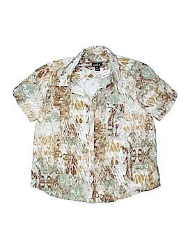 Erika Short Sleeve Button-Down Shirt Size XL (Petite)