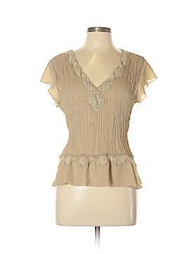 Allison Taylor Short Sleeve Top Size XL
