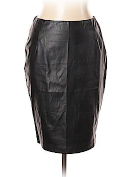 Gracia Faux Leather Skirt Size L