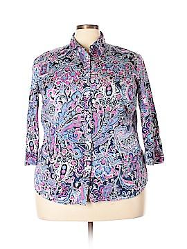 Ralph Lauren Long Sleeve Button-Down Shirt Size 2X (Plus)