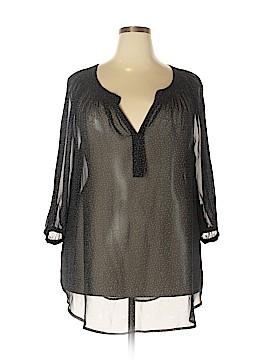 Daniel Rainn 3/4 Sleeve Blouse Size 2X (Plus)