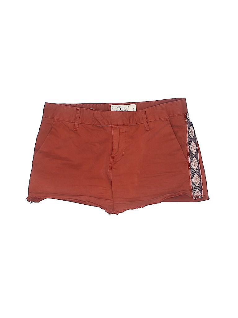 Lucky Brand Women Khaki Shorts Size 0