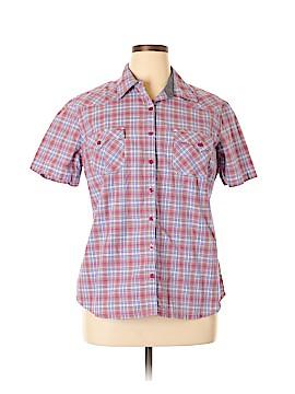 Dickies Short Sleeve Button-Down Shirt Size XL