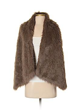 Lisa International Faux Fur Vest Size S