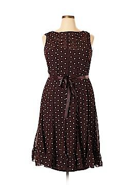 Sandra Darren Casual Dress Size 14 (Plus)