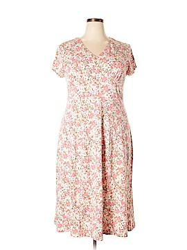 Sahalie Casual Dress Size 1X (Plus)