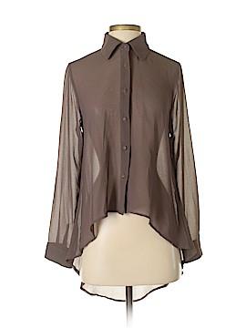 Mono B Long Sleeve Blouse Size S