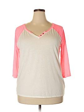 Arizona Jean Company 3/4 Sleeve Henley Size XXL