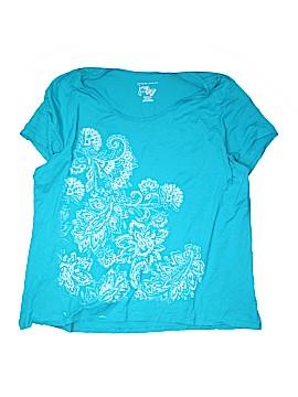 Just My Size Short Sleeve T-Shirt Size 26W - 28W Plus (Plus)