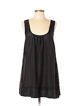 PureDKNY Sleeveless Silk Top Size L
