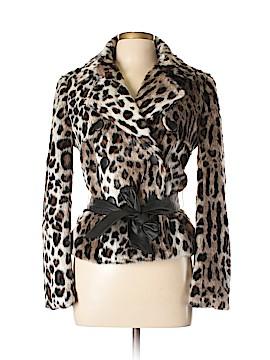 Bebe Faux Fur Jacket Size M
