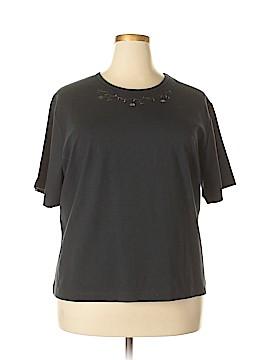 Denim Co Short Sleeve T-Shirt Size 2X (Plus)