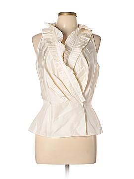 Tadashi Sleeveless Silk Top Size 12