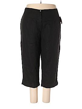 Silhouettes Linen Pants Size 26 (Plus)