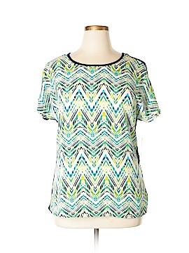 Rebecca Malone Short Sleeve Blouse Size XL