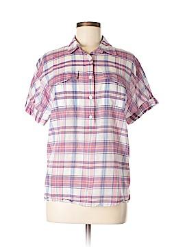 J. Crew Short Sleeve Button-Down Shirt Size 6 (Tall)