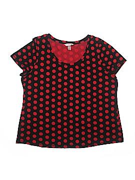 Cacique Short Sleeve T-Shirt Size 18 - 20 (Plus)
