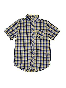 Arizona Jean Company Short Sleeve Button-Down Shirt Size 12