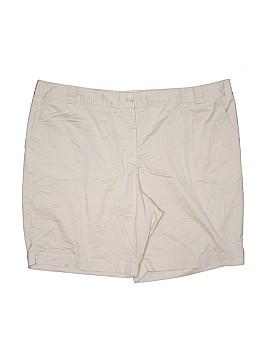 White Stag Khaki Shorts Size 26 (Plus)