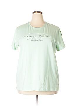 Devon & Jones Short Sleeve T-Shirt Size 2X (Plus)