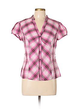 B.wear Short Sleeve Button-Down Shirt Size XL