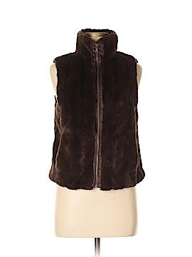 Express Faux Fur Vest Size M