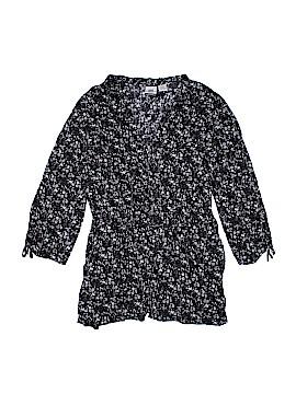 Route 66 3/4 Sleeve Button-Down Shirt Size 1X (Plus)