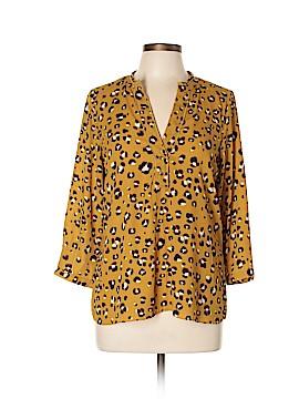 Zara Basic 3/4 Sleeve Blouse Size L