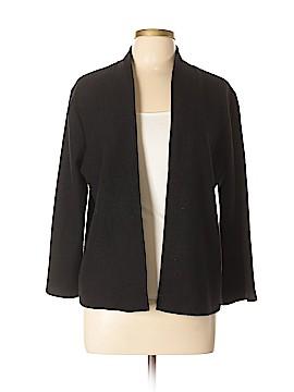 Anne Klein Wool Cardigan Size L
