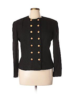 NIPON BOUTIQUE Wool Blazer Size 14