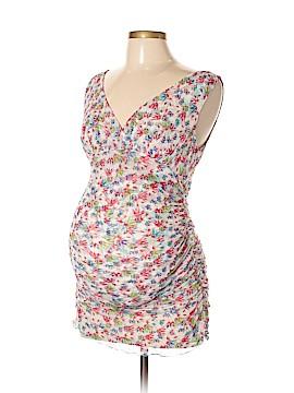 Diane von Furstenberg Sleeveless Silk Top Size L (Maternity)