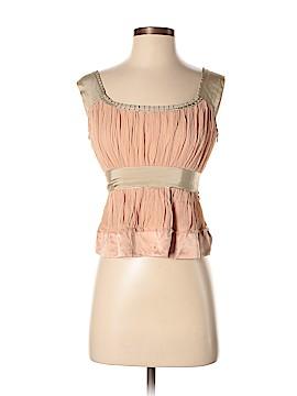 Philosophy di Alberta Ferretti Sleeveless Silk Top Size 6