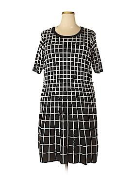 Gabby Skye Casual Dress Size 2X (Plus)