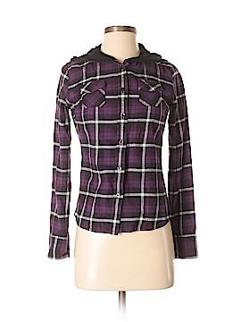Vans Long Sleeve Button-Down Shirt Size S