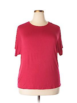 IMAN Short Sleeve Top Size 2X (Plus)