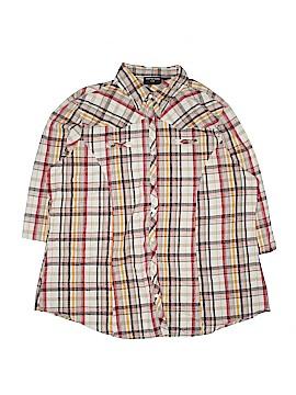 Jennifer Lauren 3/4 Sleeve Button-Down Shirt Size 2X (Plus)