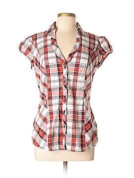 Heart Soul Short Sleeve Button-Down Shirt Size XL