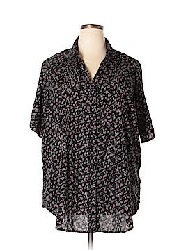 Great Northwest Short Sleeve Button-Down Shirt Size 2X (Plus)