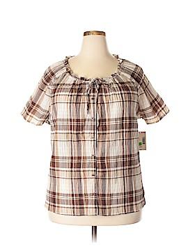 Laura Scott Short Sleeve Blouse Size 24 - 26 (Plus)