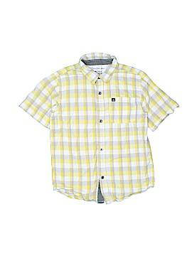 CALVIN KLEIN JEANS Short Sleeve Button-Down Shirt Size 7