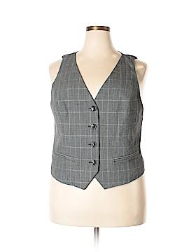 Style&Co Tuxedo Vest Size 18 (Plus)