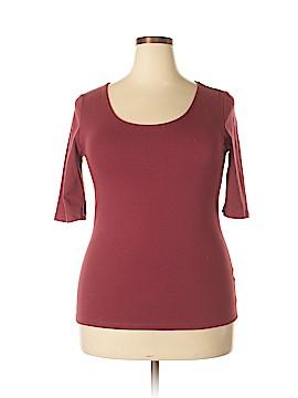 Doublju 3/4 Sleeve Blouse Size 2X (Plus)