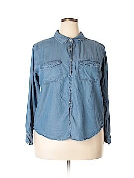 English Laundry Long Sleeve Button-Down Shirt Size 2X (Plus)