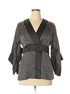 Soma 3/4 Sleeve Silk Top Size 1