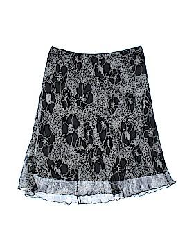 Hillard & Hanson Silk Skirt Size M